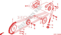 CAM CHAIN   TENSIONER for Honda XR 70 2000