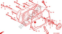 RIGHT CRANKCASE COVER for Honda XR 70 2000