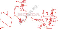 STEERING DAMPER for Honda QR 50 Mini Moto 1984