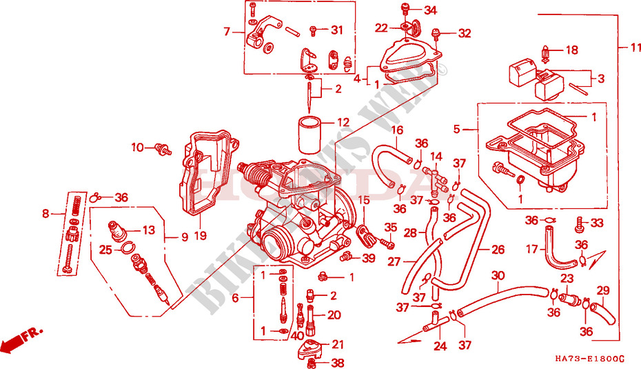 Honda Fourtrax Carburetor Schematics Wiring Diagrams Site Data A Data A Geasparquet It