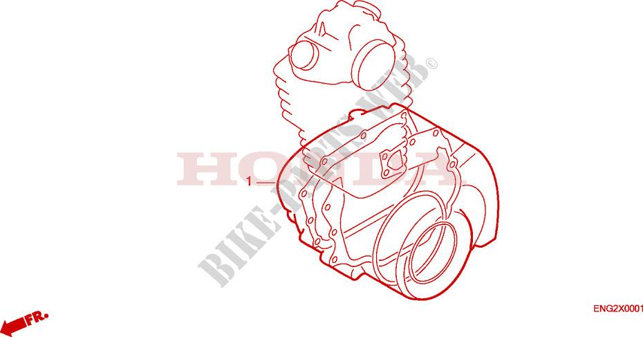 Gasket Kit B For Honda Trx Fourtrax 250 1987   Honda