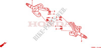 KNUCKLE for Honda FOURTRAX 250 RECON Standard 2004