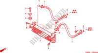 OIL COOLER for Honda FOURTRAX 250 RECON Standard 2004