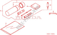 TOOL for Honda FOURTRAX 250 RECON Standard 2004