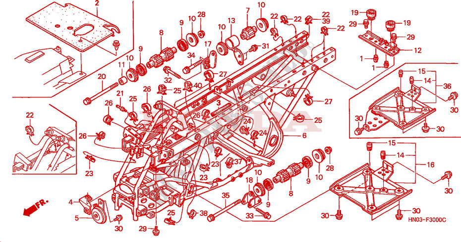Wiring Diagram For 2001 Honda Rubicon