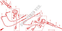 SWITCH/CABLE Frame 1100 honda-motorcycle CBR 2004 F__0300