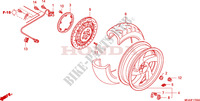 REAR WHEEL for Honda GL 1800 GOLD WING ABS 2003