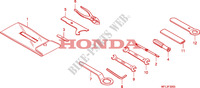 TOOLS for Honda CBR 1000 RR FIREBLADE 2008
