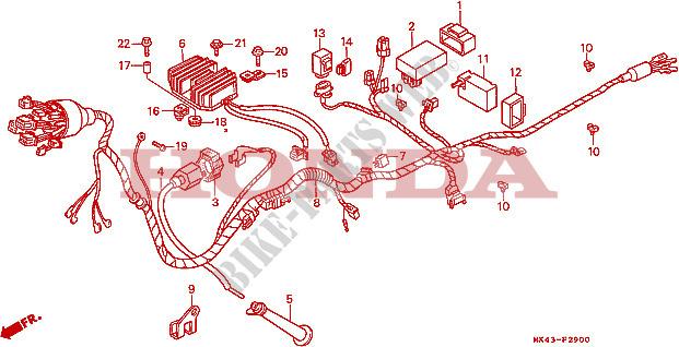 Honda Xbr 500 Wiring Diagram - Wiring Diagram Article on