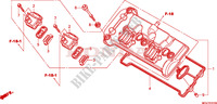 CYLINDER HEAD COVER for Honda CBR 600 F SPECIAL 2011