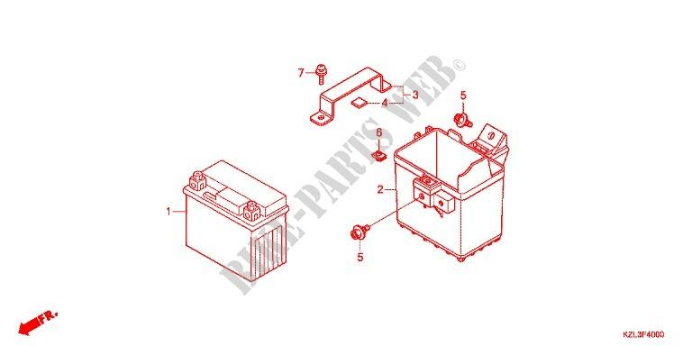 Honda Dio Moped Wiring Diagram
