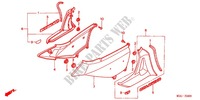 SIDE COVERS for Honda GL 1800 GOLD WING 2004