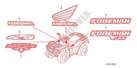 STICKERS for Honda FOURTRAX 500 FOREMAN 4X4 Electric Shift 2007