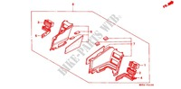 --- JEU DE COUVERCLE LATERAL ('90) Frame 1500 honda-motorcycle GOLD-WING 1991 F_61