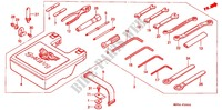 --- OUTILS (SAUF GL1500I) Frame 1500 honda-motorcycle GOLD-WING 1991 F_39