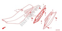 SEAT/SIDE COVER Frame 150 honda-motorcycle CRF 2016 F_13