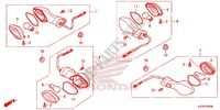 INDICATOR (2) for Honda CRF 250 L 2016