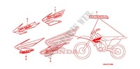 MARQUE (CRF250X'04,'05,'06,'07) for Honda CRF 250 X 2006