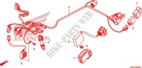 WIRE HARNESS/BATTERY for Honda CRF 250 X 2006