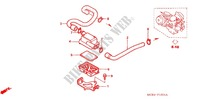 SUB AIR CLEANER (TUBING) Frame 750 honda-motorcycle VT 2006 F_16_1