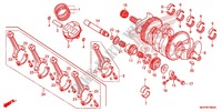 CRANK SHAFT/PISTON Engine 1000 honda-motorcycle CBR 2014 E_16