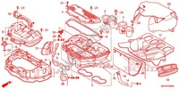 FRONT COVER/AIR CLEANER Frame 1000 honda-motorcycle CBR 2014 F_25