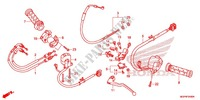 HANDLE LEVER/SWITCH/CABLE (1) Frame 1000 honda-motorcycle CBR 2014 F_04