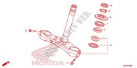 STEERING STEM/TOP BRIDGE Frame 1000 honda-motorcycle CBR 2014 F_09