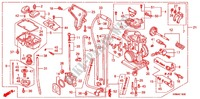 CARBURETOR O.P. KIT for Honda CRF 250 R RED 2008