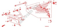 FRONT ARM Frame 500 honda-motorcycle FOURTRAX 2010 F_10