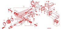 SWINGARM/CHAIN CASE Frame 500 honda-motorcycle FOURTRAX 2010 F_24