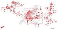 --- ARBRE DE DIRECTION (DIRECTION ASISTEE) (TRX500FPA) Frame 500 honda-motorcycle FOURTRAX 2010 F_6_1