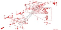 FRONT ARM Frame 500 honda-motorcycle FOURTRAX 2010 F_11