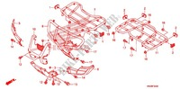 SEAT/CARRIER (C50J/N) Frame 500 honda-motorcycle FOURTRAX 2010 F_34