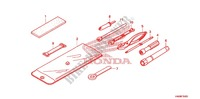 TOOLS/BATTERY BOX Frame 500 honda-motorcycle FOURTRAX 2010 F_35