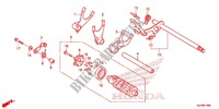 GEAR SHIFT DRUM Engine 750 honda-motorcycle VT 2014 E_19